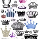 Crowns Digital Collage Sheet