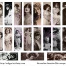 Edwardian Beauties Digital Microslide Collage Sheet