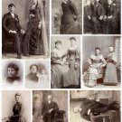 Victorian Days Digital Collage Sheet