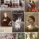 Misc. Ephemera Digital Collage Sheet 6