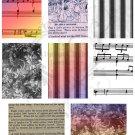 ATC Ephemera Collage Sheet