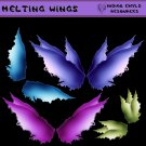 Melting Fairy Wings PNG Pack
