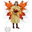 Violin Faery Girl JPG Digtial Collage Sheet