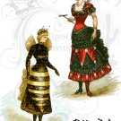 BEE A Diva Digital Collage Sheet PDF