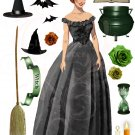 Wanda the Witch Digital PDF Collage Sheet