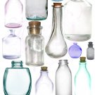 Captured Jars and Bottles Digital Collage Sheet JPG