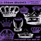 Crowns Photoshop Brushes