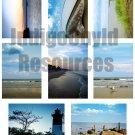 Beach ATC Digital Collage Sheet JPG