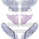 Angel Wings Digital Collage Sheet