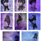 High Society ATC Digital Collage Sheet JPG