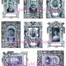 I Was Framed Digital Collage Sheet JPG