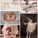 Vintage Little Things Digital Collage Sheet JPG
