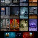 14 Empty Room Digital Background Settings Pack