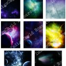 Cosmic Space ATC or ACEO 3 Digital Collage Sheet  JPG