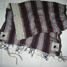 Brown & Tan Tallit Set