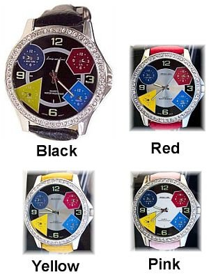 Jacob Styled Mens Bling Bling Watch