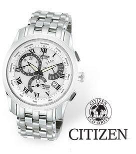 Citizen Men's Eco-Drive Calibre 8700 White Dial Watch