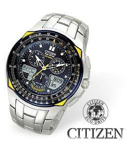 Citizen Skyhawk Blue Angels Flight Chronograph Watch
