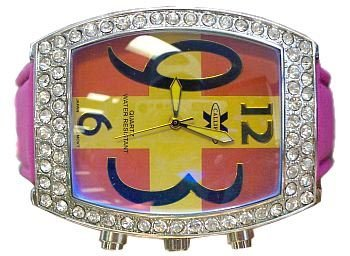 Ladies Jacob Styled Bling Watch