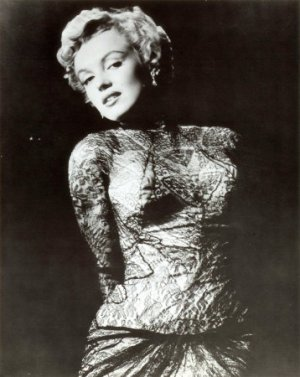 """New Marilyn Monroe Black and White Poster card 8"""" x 10"""""""