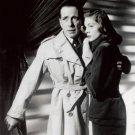 "New Glossy B/W Photo Lauren Bacall and Humphrey Bogart 8"" x 10"""