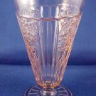 Anchor Hocking MAYFAIR PINK Open Rose Iced Tea Glass 1931 - 1937