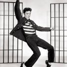 "New Glossy Black and White Photo Elvis in Jail House Rock  8"" x 10"""