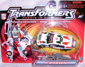 Collectible Transformers Robots in Disguise X-Brawn Wild Ride