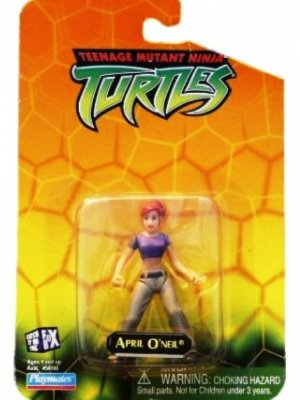 Collectible Teenage Mutant Ninja Turtles April O'Neil Mini Action Figure
