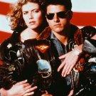 """Tom Cruise Kelly McGillis Top Gun Color Photo 8"""" x 10"""""""