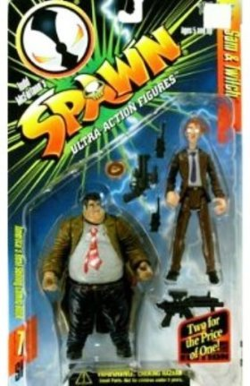 McFarlane Toys' Spawn Ultra-Action Figure Sam & Twitch