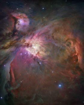 "Glossy Photo Orion Nebula from NASA Hubble Telescope 8"" x 10"