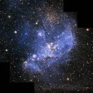"Glossy Photo Infant Stars in Magellanic Clouds from NASA Hubble Telescope 8"" x 10"
