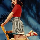 "Color Photo Deanna Durbin in the 1940's 4"" x  6"""