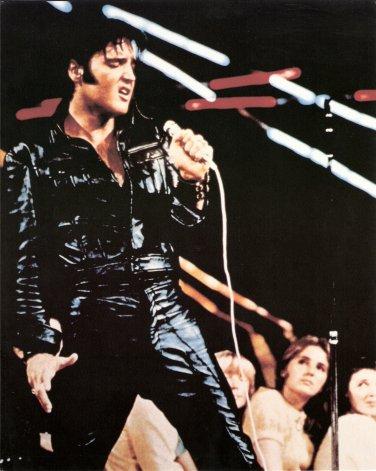 """Color Photo Elvis Comeback Special 1968  4"""" x 6"""""""