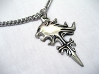 "Final Fantasy VIII ""Squall Lionheart"" Griever Cosplay Necklace"