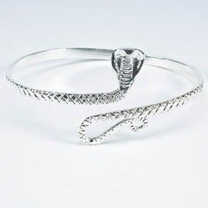 Silver Snake Upper Armband Armring Armlet [style2]