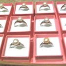 Wholesale Lot of (12) Freshwater Pearl Rings [set2]