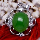 Silver Jade Crystal Pendant Necklace [style8]
