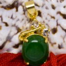 18K Gold Jade Crystal Pendant Necklace [style7]