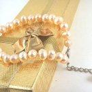 Genuine Pink Freshwater Pearl Bracelet