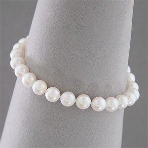 Genuine White Freshwater Pearl Bracelet