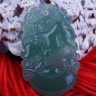 Jade Ox Cow (Chinese Zodiac) Talisman Amulet Pendant Necklace [style3]
