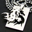 Silver Dragon Pendant Necklace [style2]