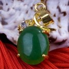 18K Gold Jade Crystal Pendant Necklace [style15]