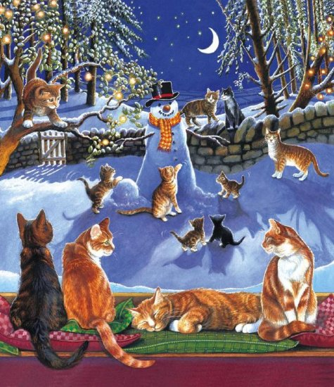 On A Frosty Night - 200 piece SunsOut puzzle - for Ages 7+