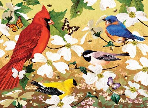 Spring Quartet - 500 piece SunsOut puzzle - for Ages 12+