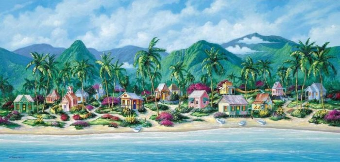 Easy Living - 1,000 piece SunsOut puzzle - for Ages 12+