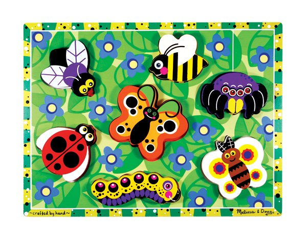 Insect Chunky - 7 piece Melissa & Doug puzzle - Ages 2+