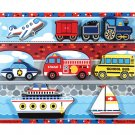 Vehicles Chunky - 9 piece Melissa & Doug puzzle - Ages 2+
